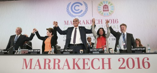 Marrakech conference committing to climate change action plans after Paris