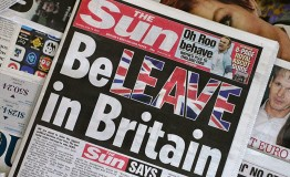 Study finds strong Brexit bias in newspapers before the Referendum