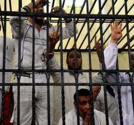 Egypt court hands down prison sentences to 119 Brotherhood protesters