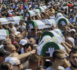 35 victims buried on anniversary of Srebrenica genocide