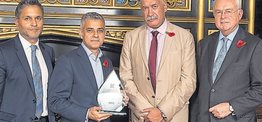 Sadiq Khan named MP of the year