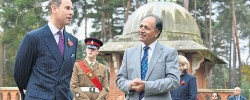New peace garden opens in memory of Muslim war heroes