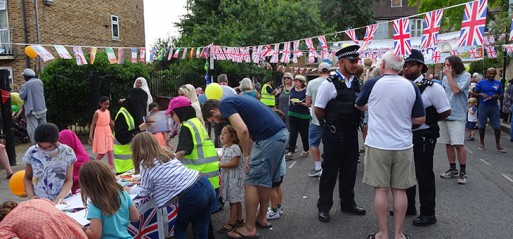 500 people attended Hackney's biggest Eid street party