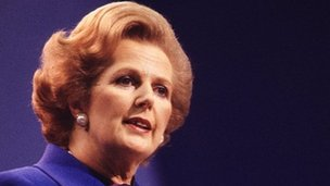 British former PM Thatcher dies after stroke