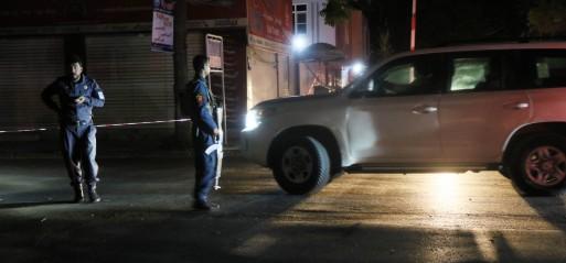 Afghanistan: Blast rocks in mosque in diplomatic enclave in Kabul, 2 killed