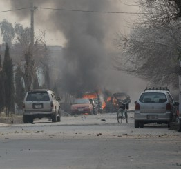 Afghanistan: Suicide attack on British charity in Jalalabad kills two