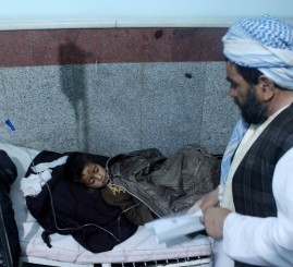 Afghanistan: Suicide bombing targets voter registration in Kabul kills 4