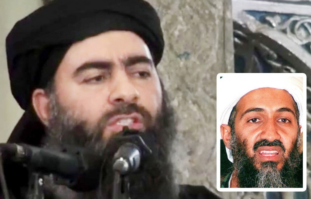 Al Baghdadi Photo Al Furqan Media Anadolu Agency