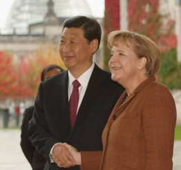 Germany: Merkel highlights human rights, Crimea in meeting with China's Xi Jinping