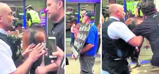 Anti-Muslim street preachers arrested in Bristol