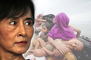 Aung San Suu Kyi fails to condemn anti-Muslim violence copy