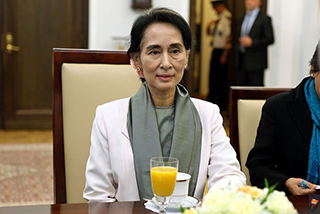 Aung San Suu Kyi stripped of another award