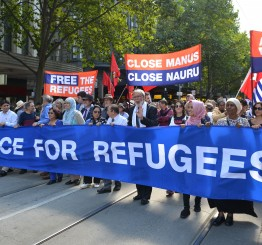 Australia: 50,000 protest against offshore detention