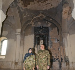 Azerbaijan slams Western concerns of Christian heritage but not Islamic ones
