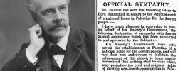 The Balfour Declaration; Let us not whitewash Arthur's anti-Semitism