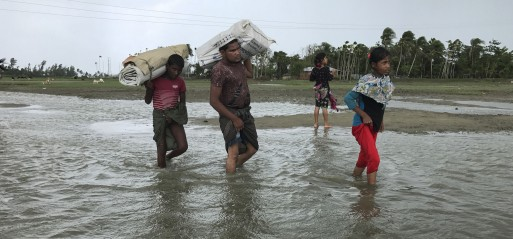 12 Rohingya Muslim refugees, mostly children, drowned as boat capsized near Bangladesh