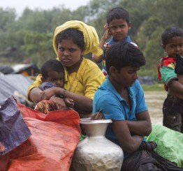 Bangladesh: Rohingya Muslim plight through the eyes of children