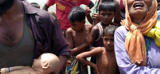 Myanmar: Trawler carrying Rohingya Muslims sinks near Bangladesh, 2 children dead