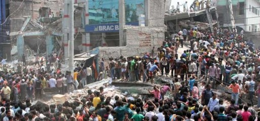 Bangladesh: 36 dead, over 300 hurt, several hundred trapped, casualty set to rise