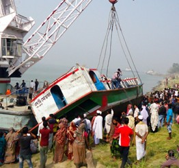 Bangladesh: Death toll from Padma launch capsize reaches 70