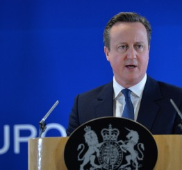 Belgium: Cameron backs progress towards EU-Turkey refugee deal