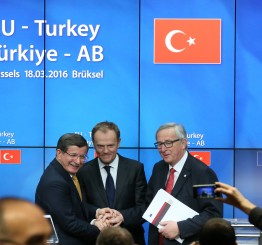 EU leaders agree on Turkey refugee deal
