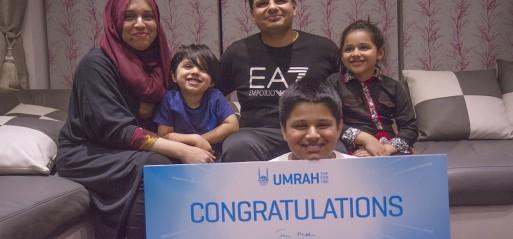 Berkshire carer wins Umrah trip