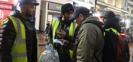 Birmingham mosque open its  door to the homeless
