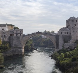 Bosnia marks anniversary of Mostar Bridge's demolition