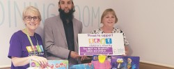 Bradford man distributes Eid gifts to hospitalised children