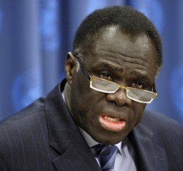Burkina Faso names diplomat Kafando as interim president