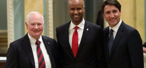 Somali refugee becomes Canada's Minister of Immigration
