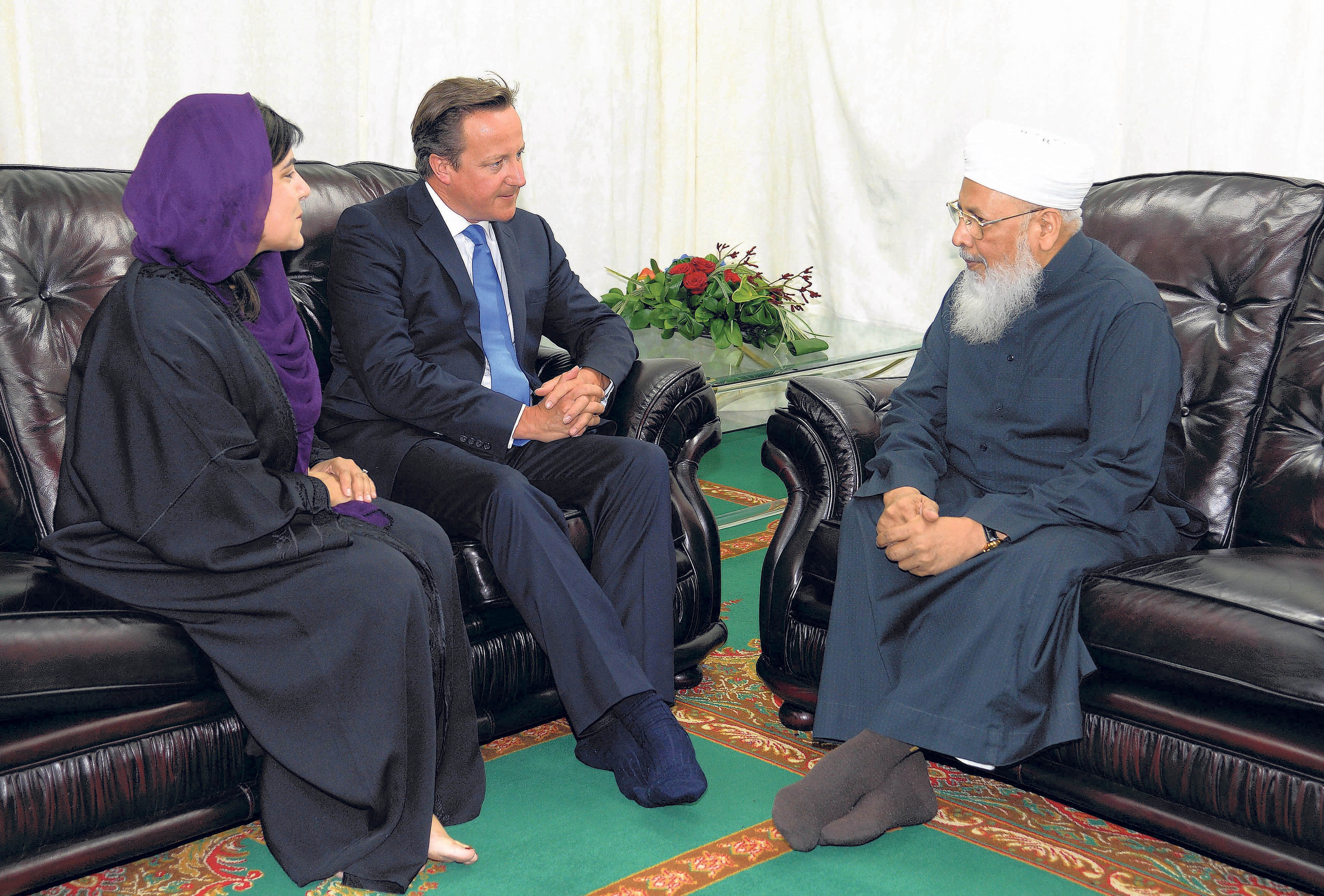 cameron muslim Prime minister david cameron is about to launch a new policy that will mean female muslim migrants could be kicked out of the uk if they fail to learn english cameron, who introduced his policy on monday with a column in the times and an interview on the bbc's today programme, said that anyone .