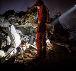 China: 85 missing after landslide at industrial park