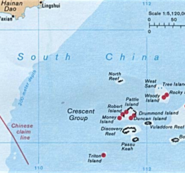 China tells US 'respect law' after warship passes island