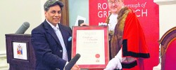 Community cohesion champion awarded the Freedom of Greenwich