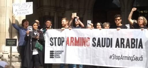 UK arms sales to Saudi Arabia ruled unlawful
