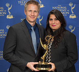 Documentary featuring the work of a Birmingham charity win at the Emmys