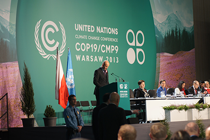 ENVIRONMENT UN conventions on climate