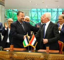 Egypt: Hamas, Fatah pen landmark reconciliation deal in Cairo