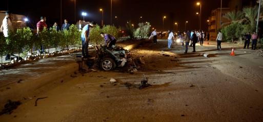 Egypt: Car bombing kills 3 in Sinai