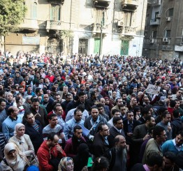 Egyptian doctors protest alleged police brutality