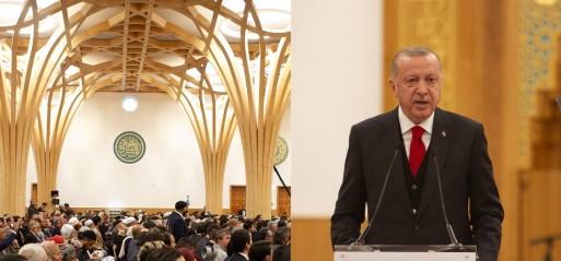 Erdoğan opens Europe's first eco-friendly mosque in Cambridge