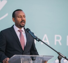Ethiopia PM named Nobel Laureate
