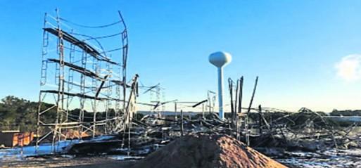 Fire destroys Islamic Centre in Texas