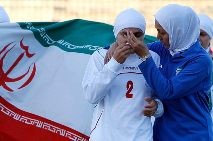 Footballs governing body approves hijab provisions following Irans Olympic ban