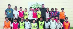 Former Liverpool defender teams up with Manchester Muslim school