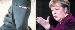 German Chancellor backs niqab ban
