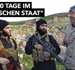 Iraq: First Western journalist granted access to 'Islamic State' returns to Germany