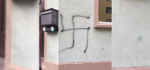 Germany: Mosque dubbed with swastikas and racist slogans